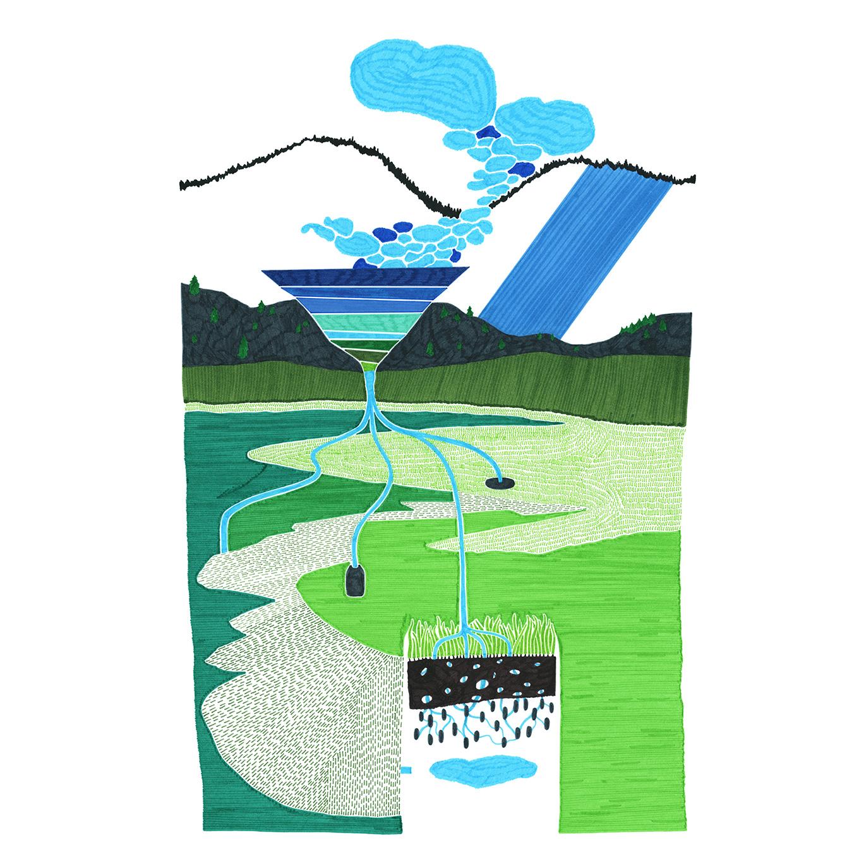 Topique-eau des Cimes, Isabelle Daëron