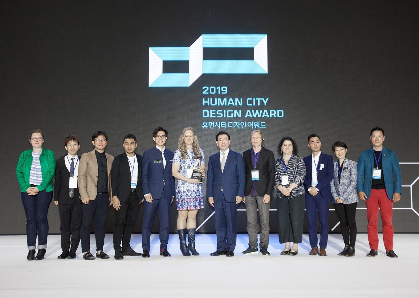 Human city design award nominee
